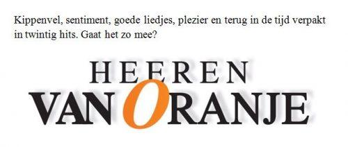 slogan Heeren van Oranje